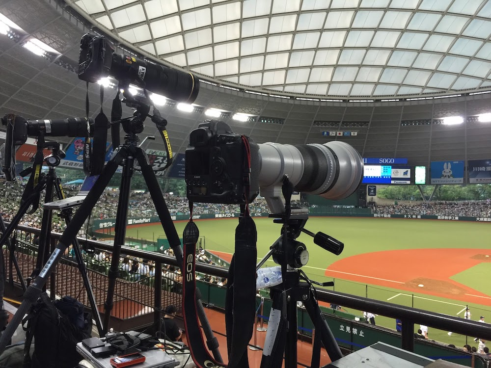 スポーツカメラマン