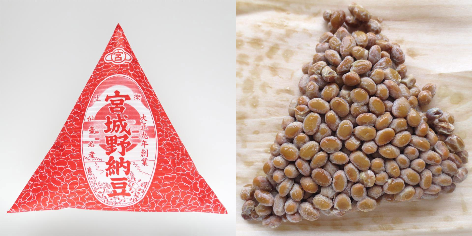 宮城野納豆製造所「宮城野納豆」
