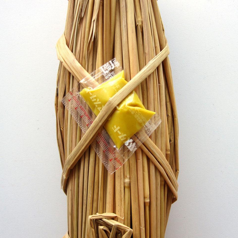 新橋玉木屋の冬限定で販売される藁納豆