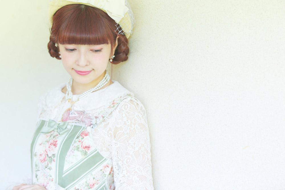 ロリータファッションは私にとっての戦闘服モデル看護師青木