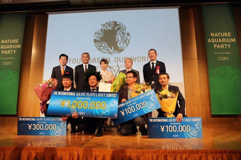 世界水草レイアウトコンテスト4位入賞 タナカカツキ