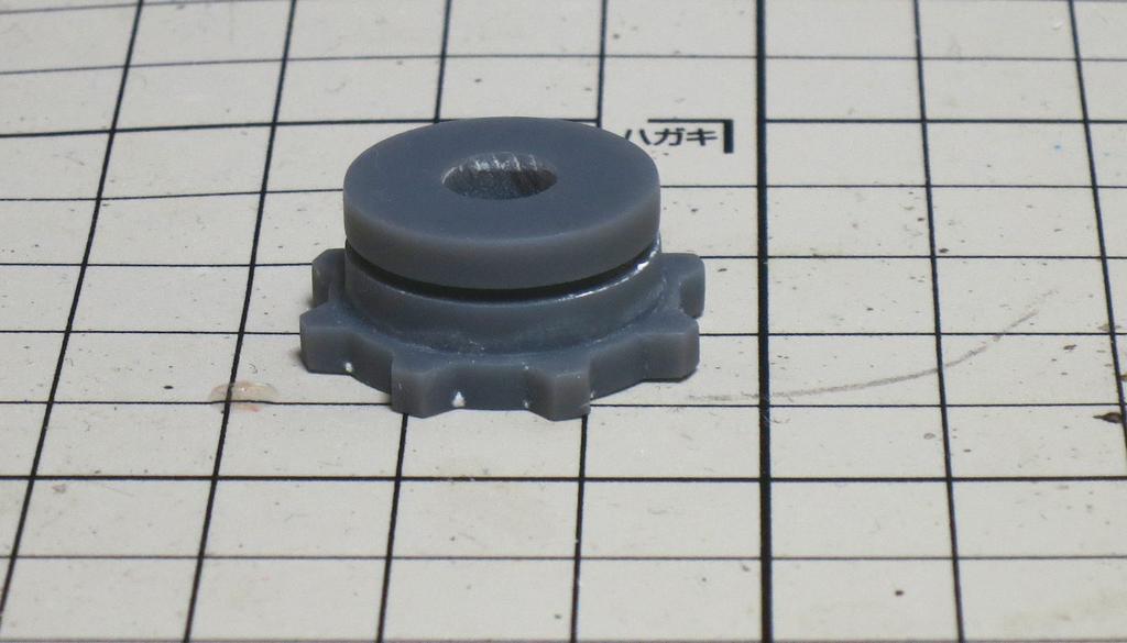シリコーンゴム複製によるガレージキット製作