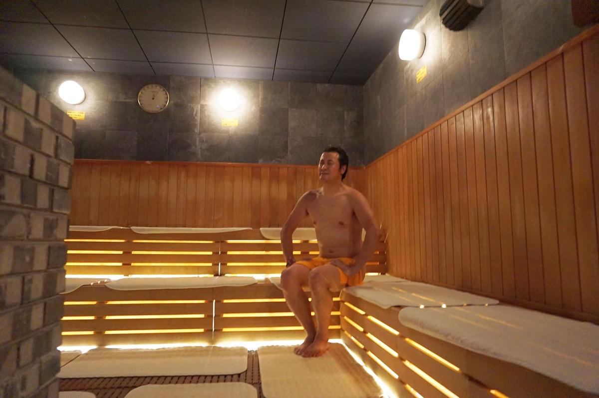 大阪 スパワールド 世界の大温泉-美と健康の24時間快適空間のサウナ&水風呂