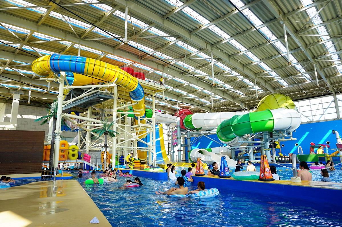 大阪 スパワールド 世界の大温泉-美と健康の24時間快適空間の年中無休のプール