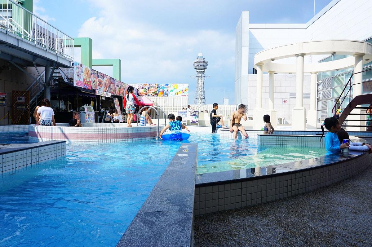 大阪 スパワールド 世界の大温泉-美と健康の24時間快適空間のプール