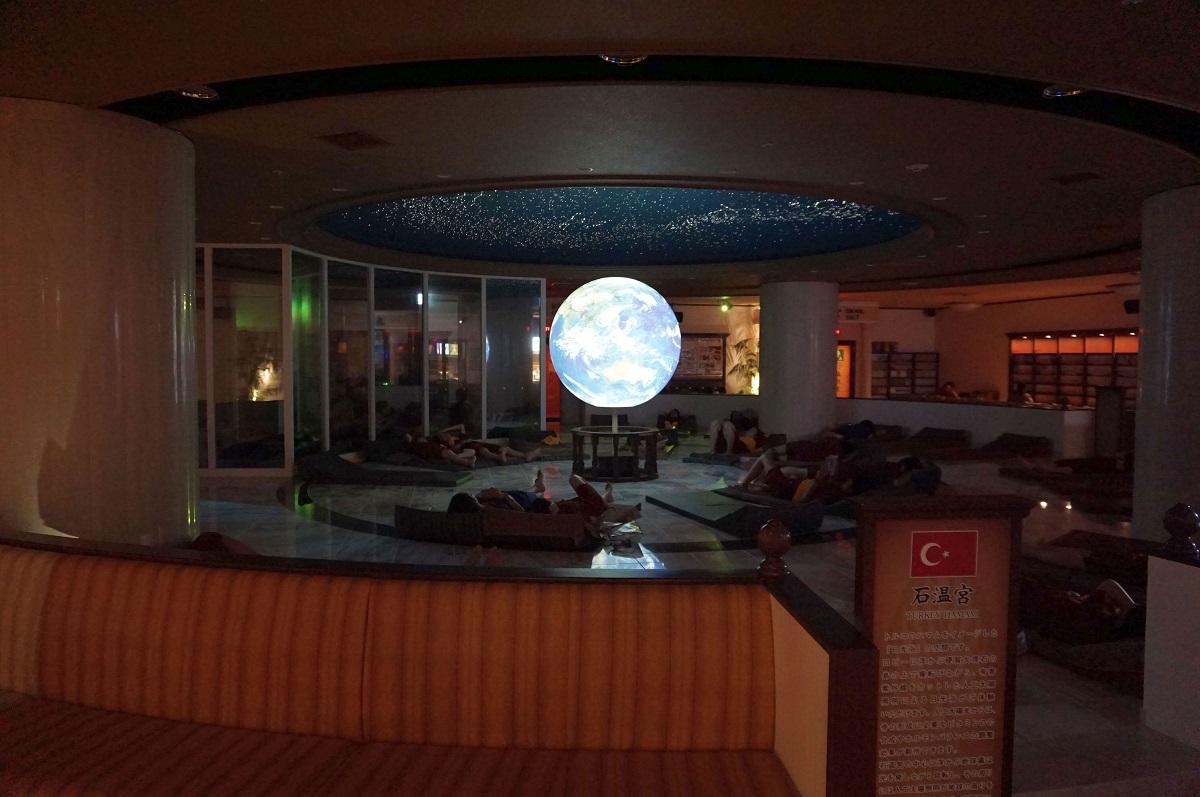 大阪 スパワールド 世界の大温泉-美と健康の24時間快適空間の岩盤浴
