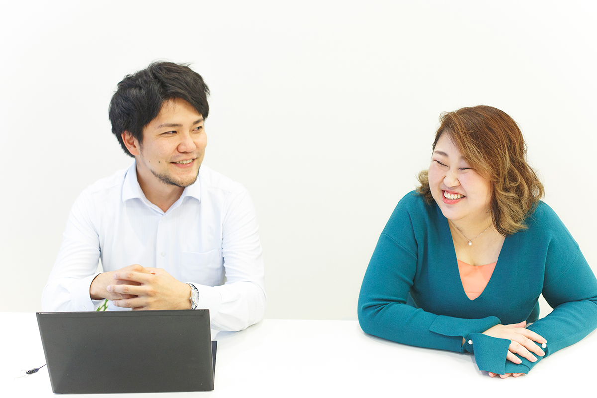 内藤さんと坪田さん
