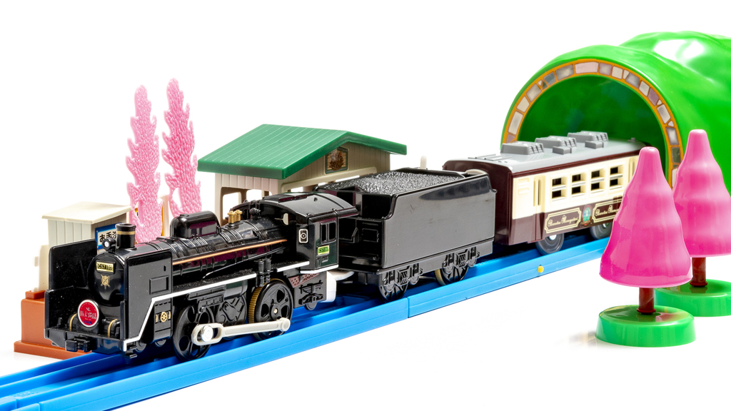 プラレールも純然たる鉄道模型である