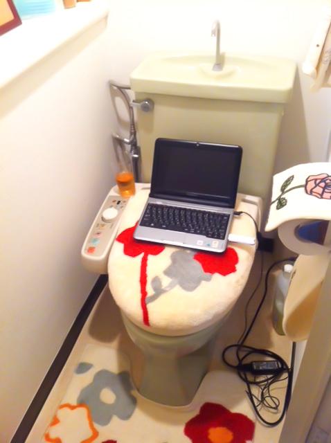 サトミツさん宅トイレ