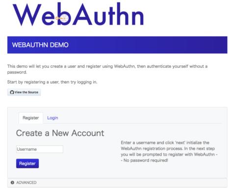 WebAuthn Demo