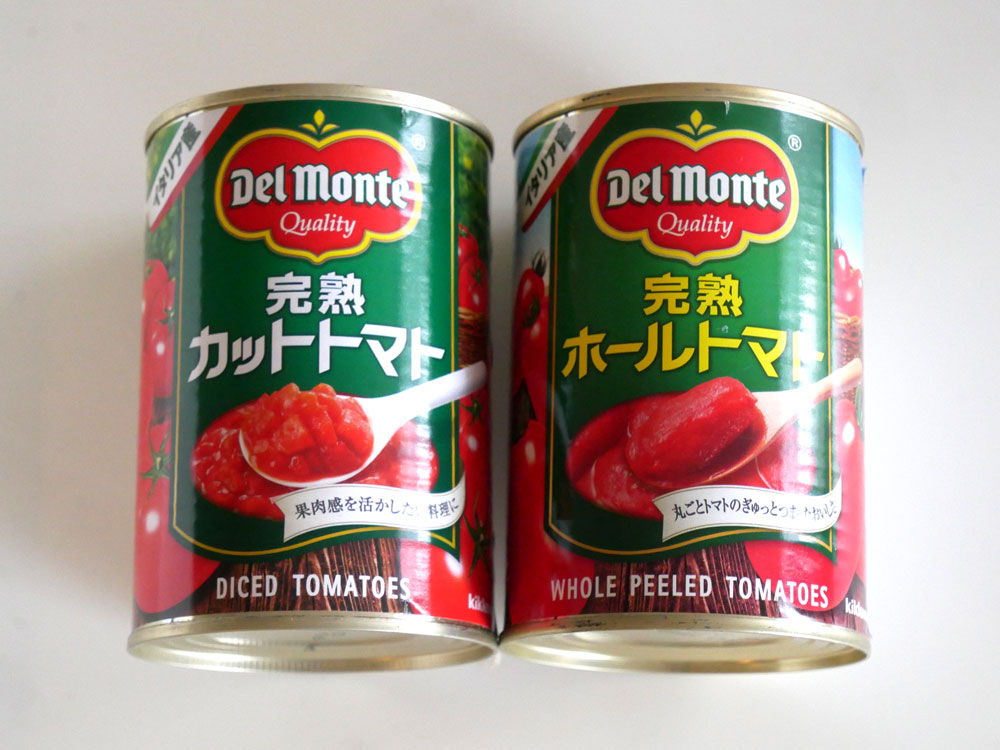 トマト 水煮缶