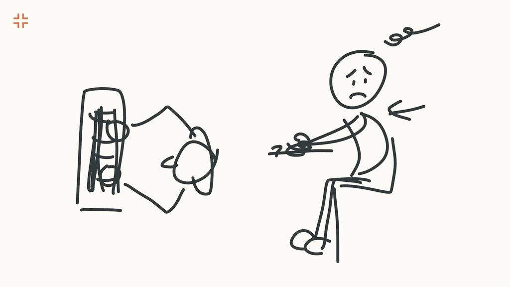 僕と自作キーボードの出会い。通常のよくあるキーボードでは姿勢が悪くなりがち