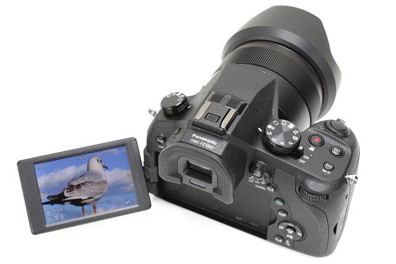 4Kフォト対応、パナソニックのLUMIX DMC-FZ1000