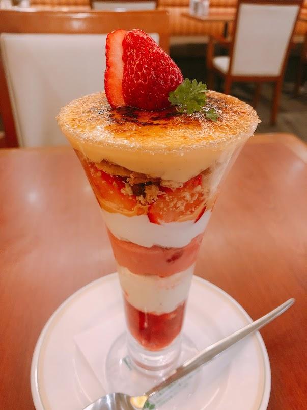 最後にデザートを食べたい