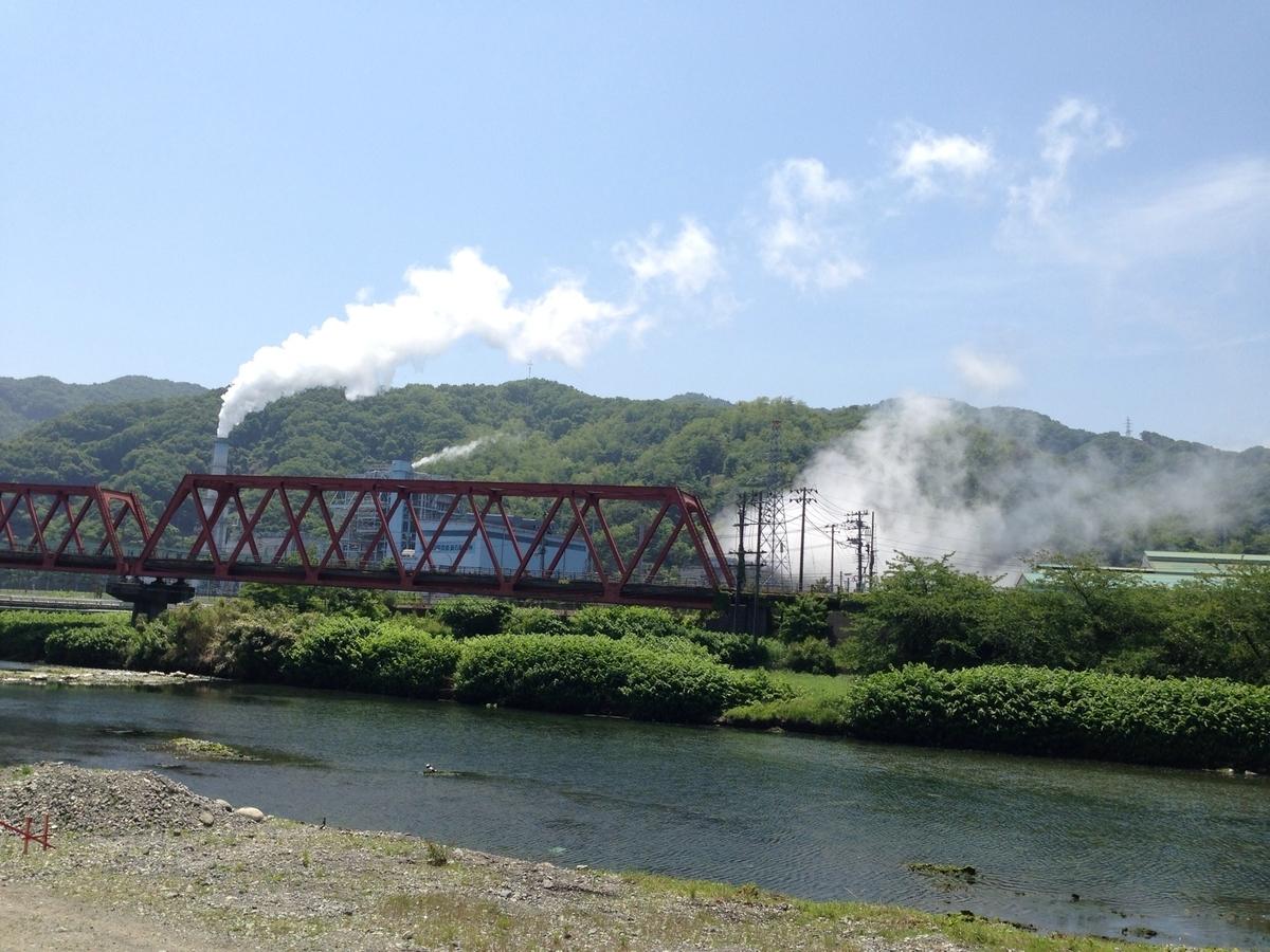 日本製鉄釜石製鉄所内にある火力発電所。発電した電力を東北電力に供給しています。