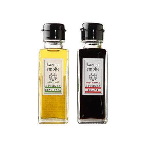醤油研究家・杉村啓の推し調味料「燻製オリーブオイル&燻製しょうゆ(かずさスモーク)」