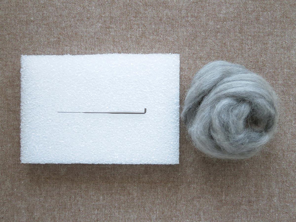羊毛フェルトに使う道具