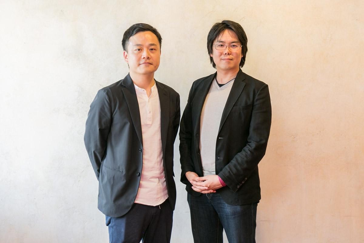 SHIFT社佐藤さんと谷岡さん紹介カット