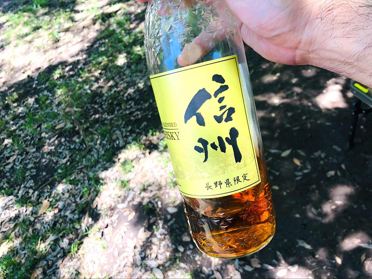 長野県限定のウイスキー「信州」