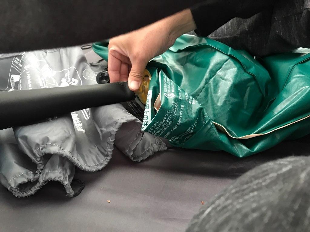 マキタの充電式ブロワはエアーマットの空気入れ&空気抜きを簡単にしてくれる