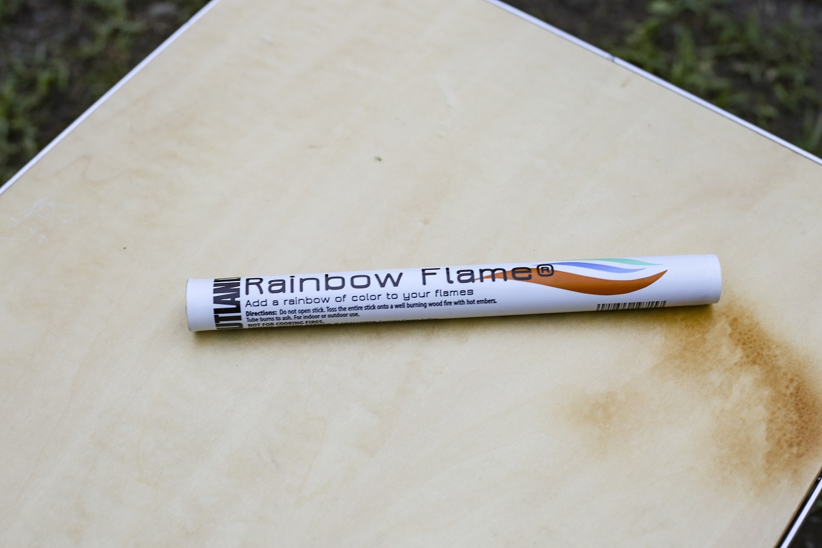 炎の色が変わるRainbow Flame
