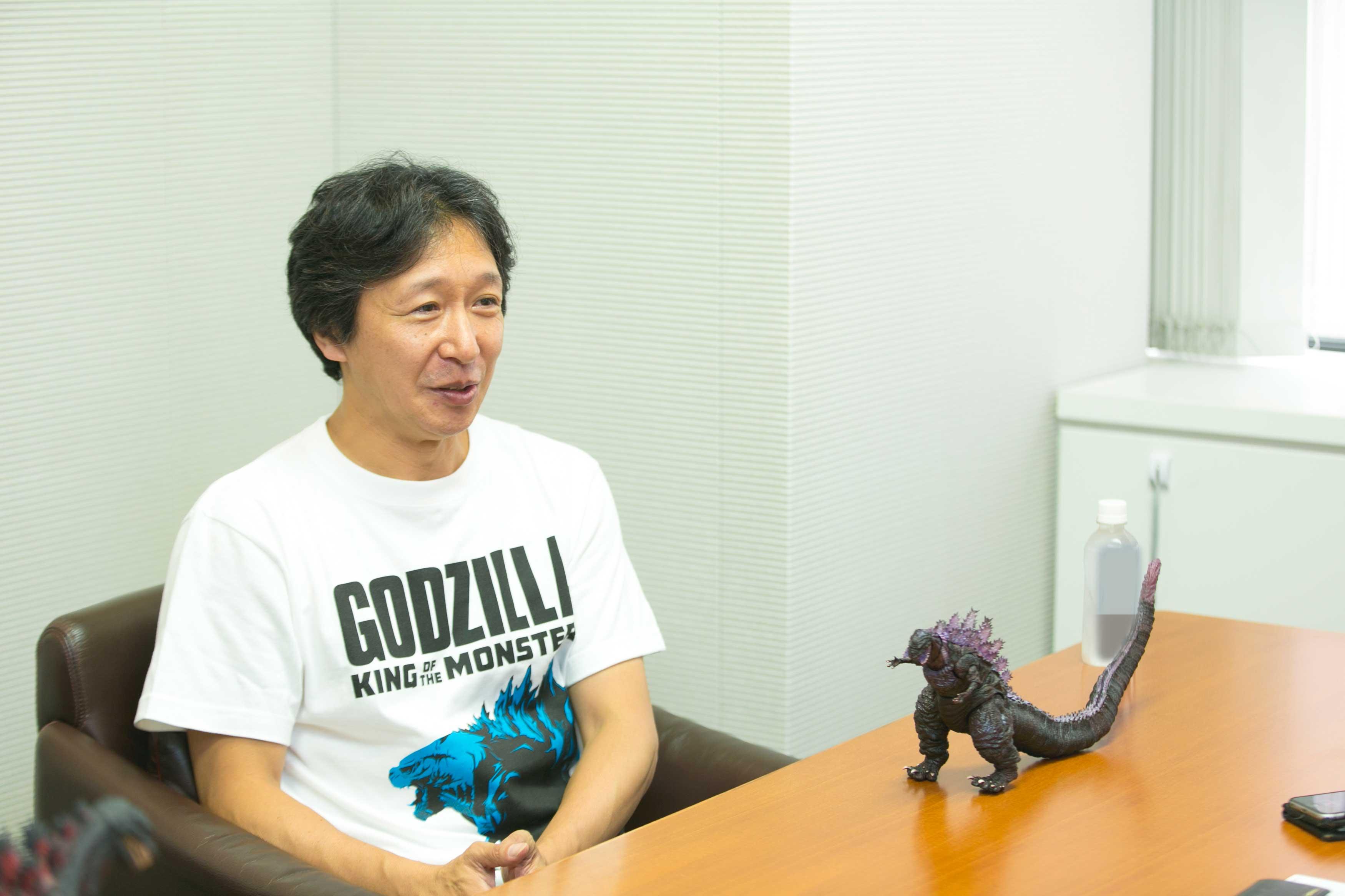 ゴジラ映画で助監督を務めた経歴もお持ちの清水俊文さん