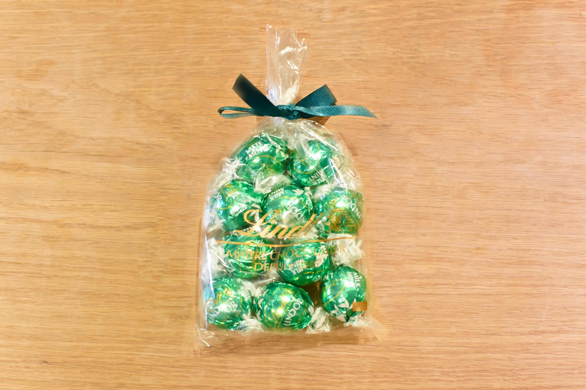 リンツ チョコレート リンドール ミント