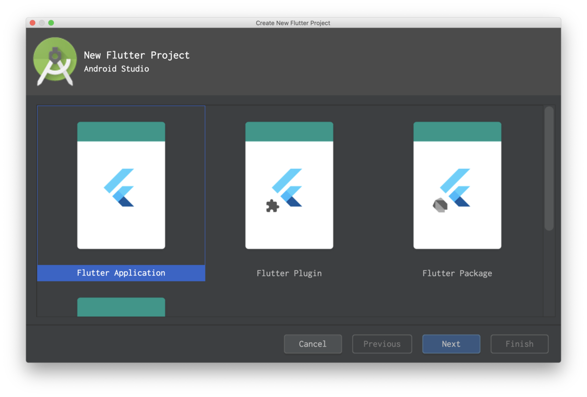 New Flutter Project