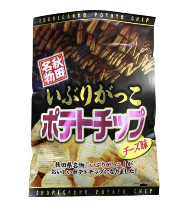 秋田名物 いぶりがっこポテトチップ チーズ味