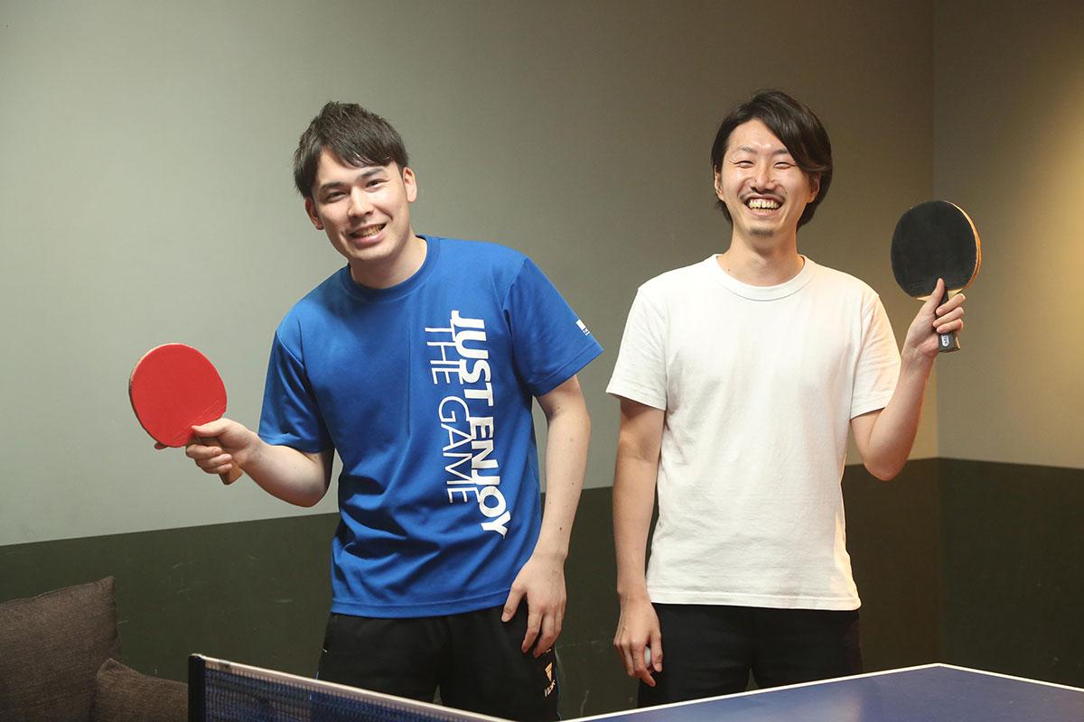 駒井さん、鈴木コーチ