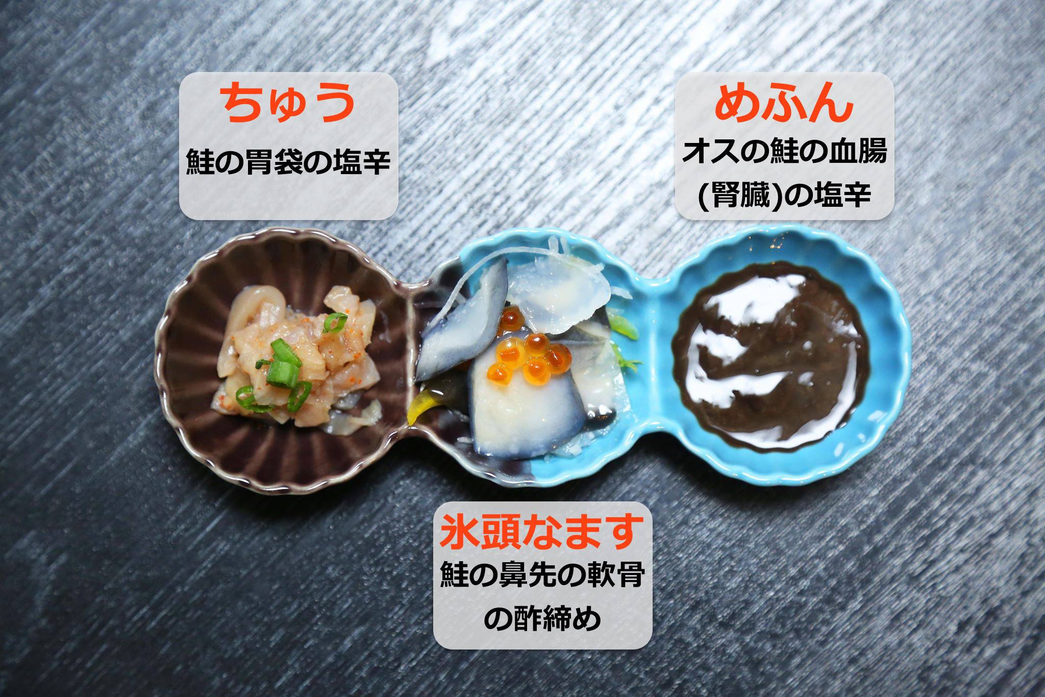 鮭料理クイズ