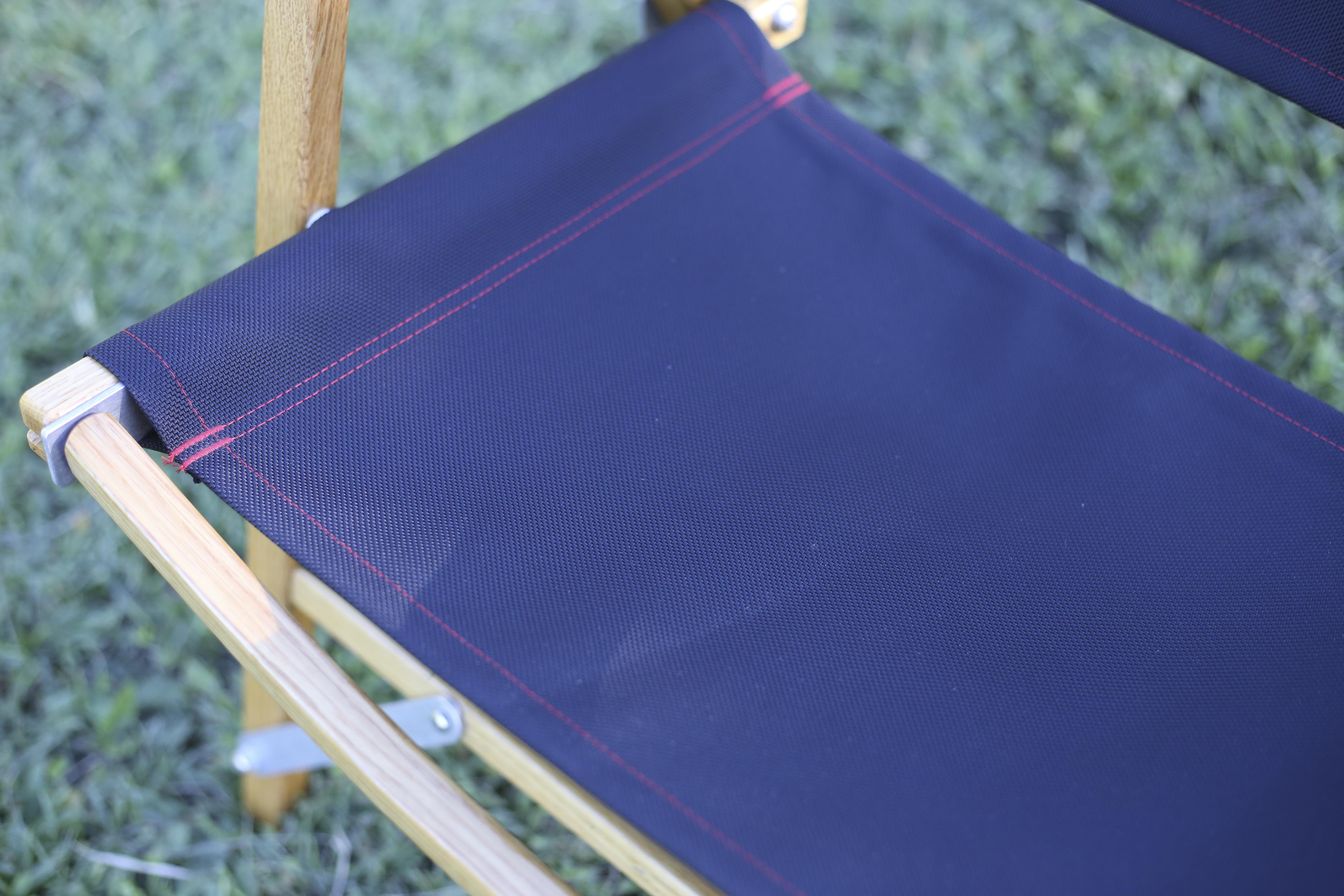カーミットチェア 座面には日本産のバリスターナイロンを使用