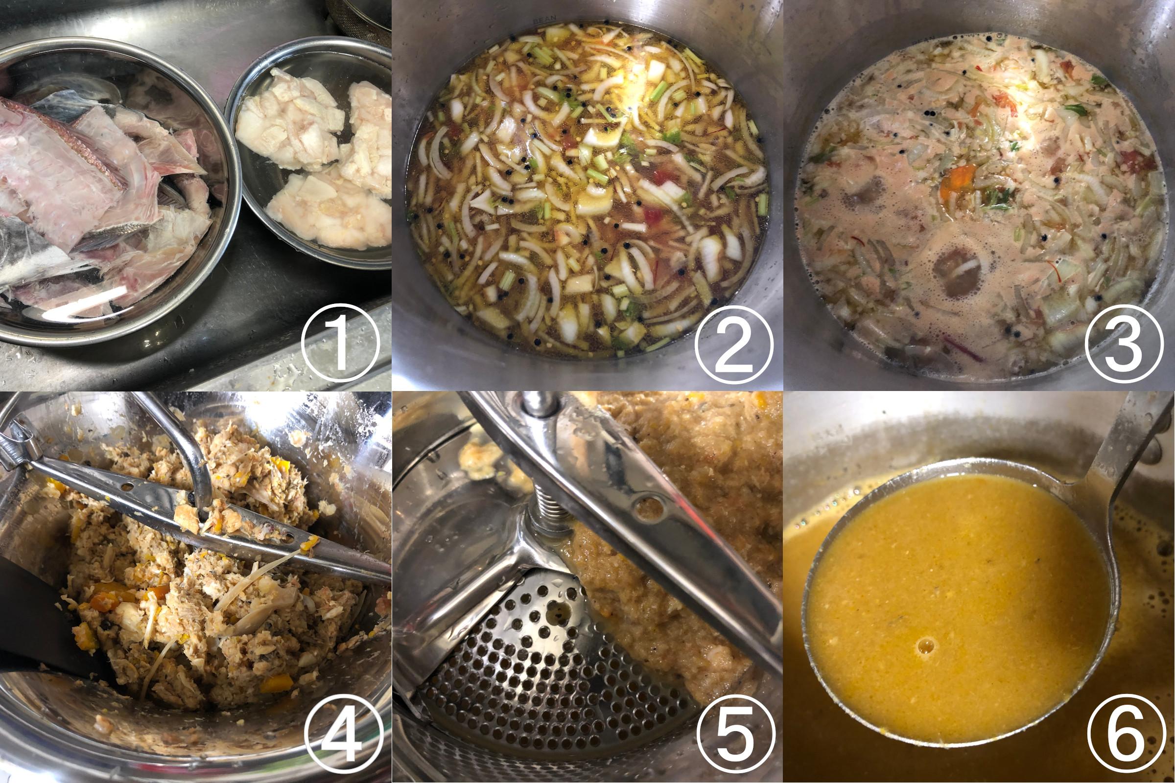 ムーランでスープ・ド・ポワソンを作ってみた