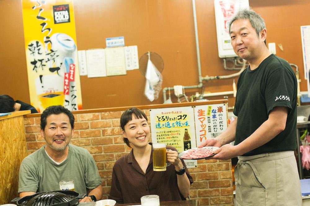 藤村さんとトミヤマさん