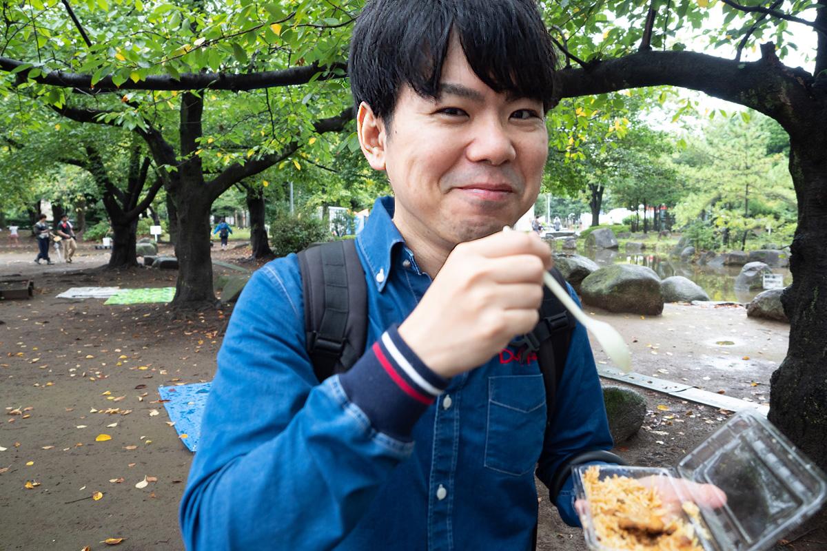 日本ビリヤニ協会のビリヤニがあまりにおいしくて思わず笑顔になってしまいました