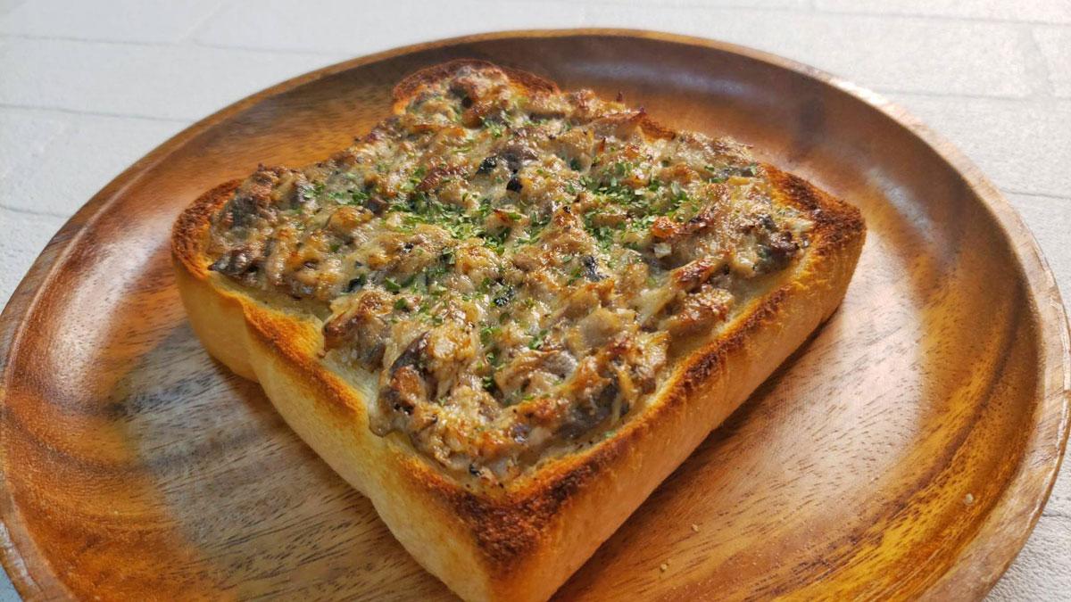 缶詰でつくる簡単朝食! 「鯖トースト」