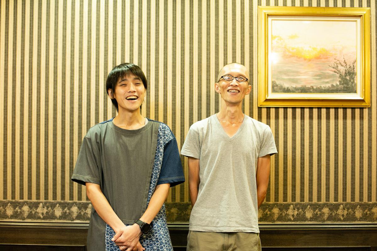 吉田尚記さんと小野寺史宜さん