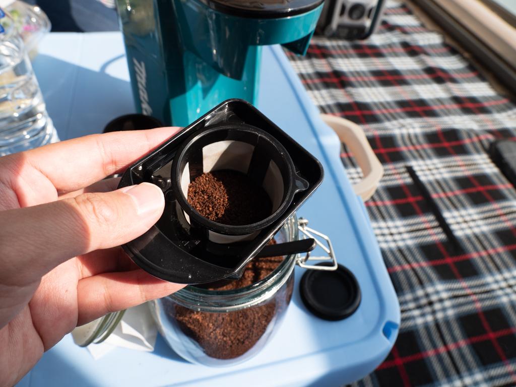 マキタのコーヒーメーカー使い方