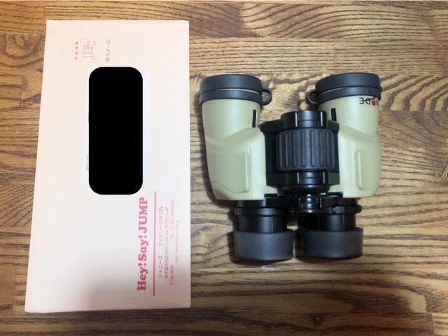 オススメの双眼鏡、ジャニーズを追いかけるジャニヲタ見聞録管理人が使っているヒノデ「6×30-B+」