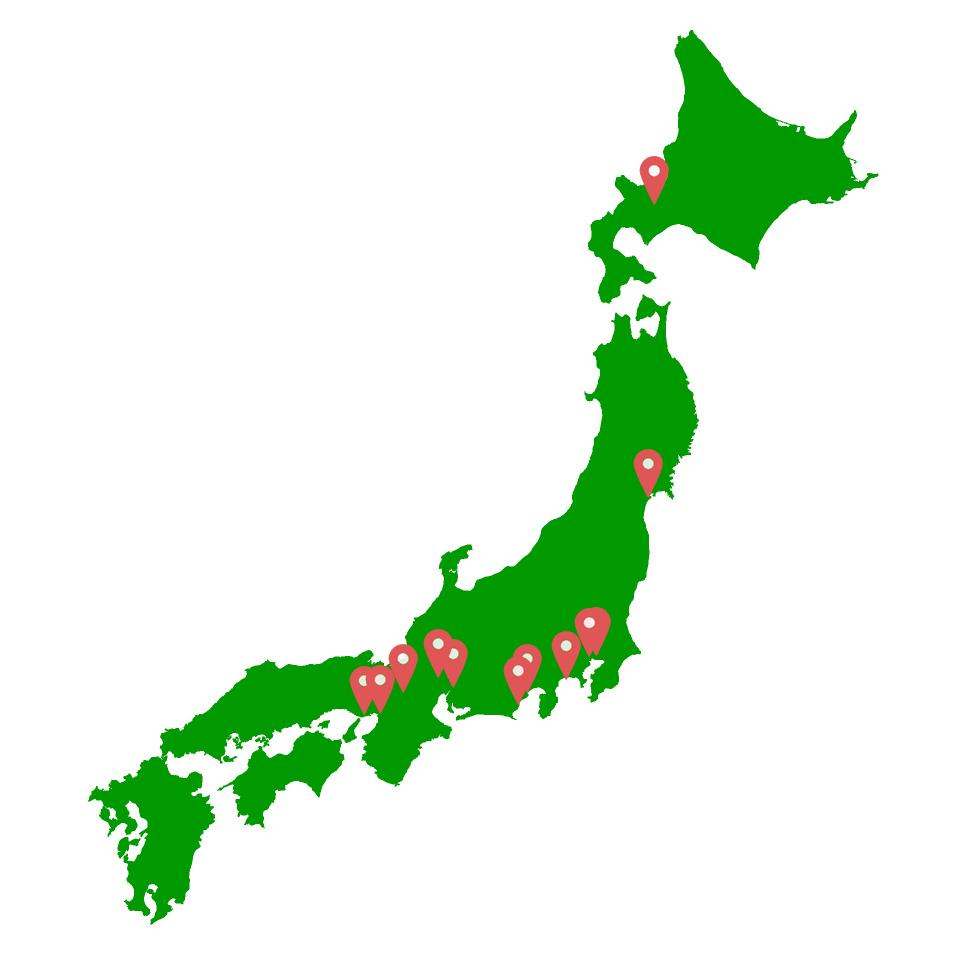 東海道に良サウナが集まっている