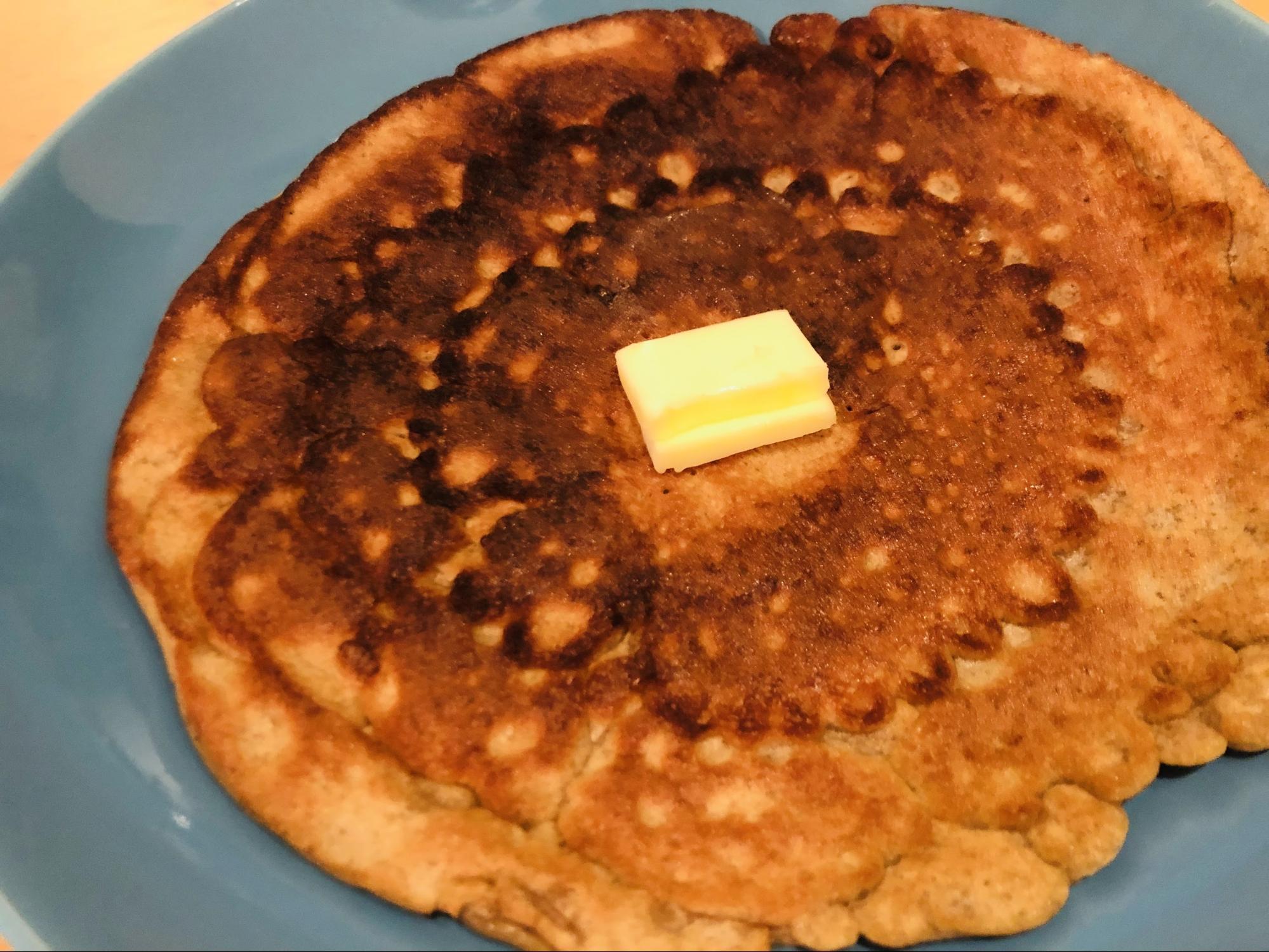 マイプロテインのパンケーキミックスで焼いたパンケーキ