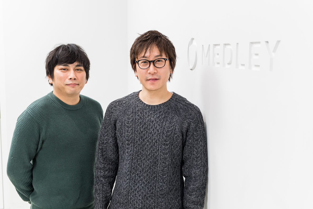 稲本竜介さんと田中清さん