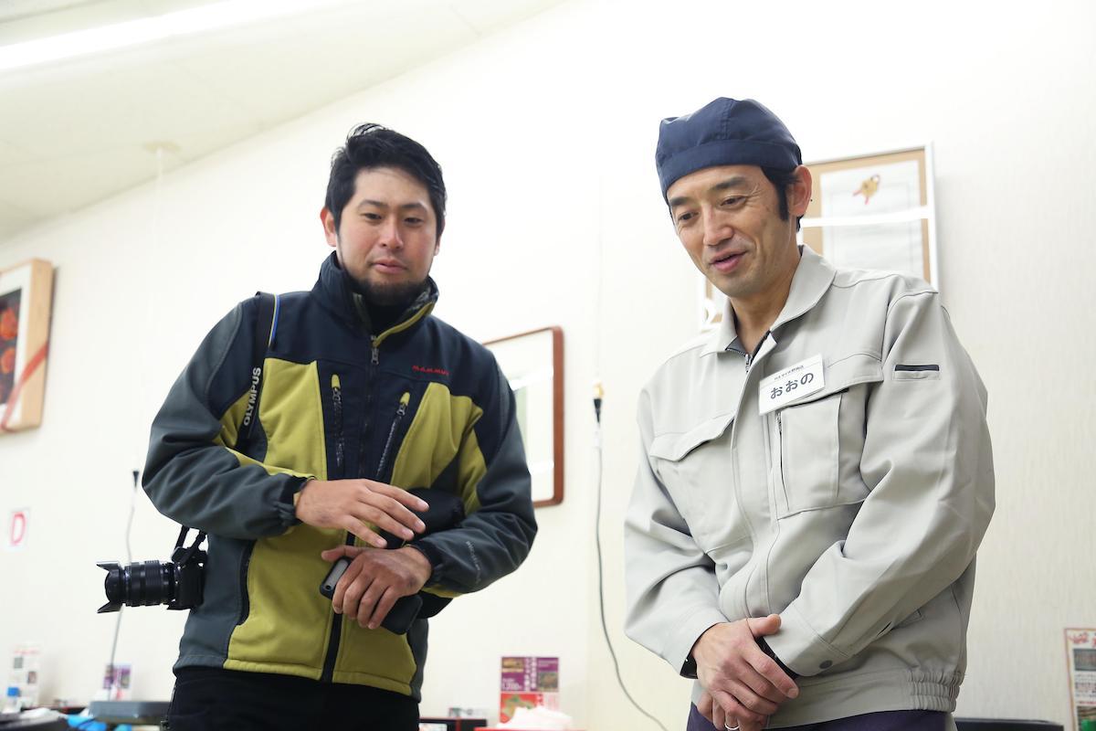 大野さんと平坂さん