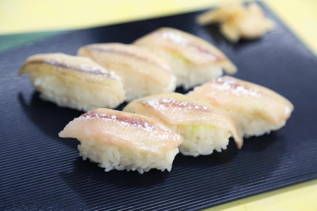 シシャモのにぎり寿司