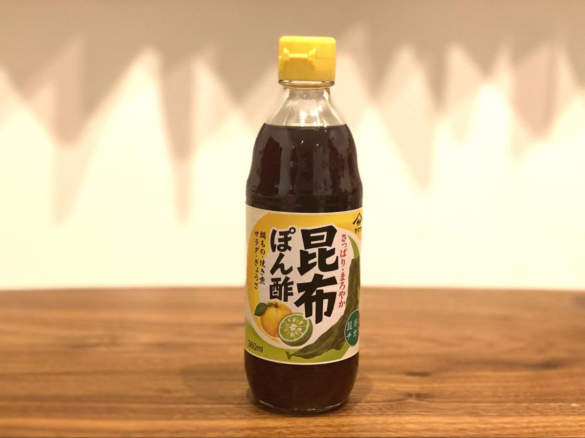 千葉県:昆布ぽん酢(ヤマサ醤油)