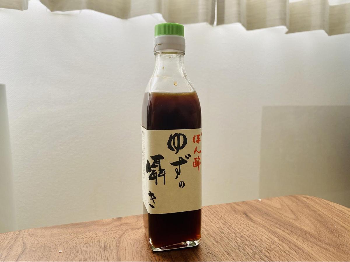 滋賀県:ぽん酢 ゆずの囁き(かねなか醤油店)