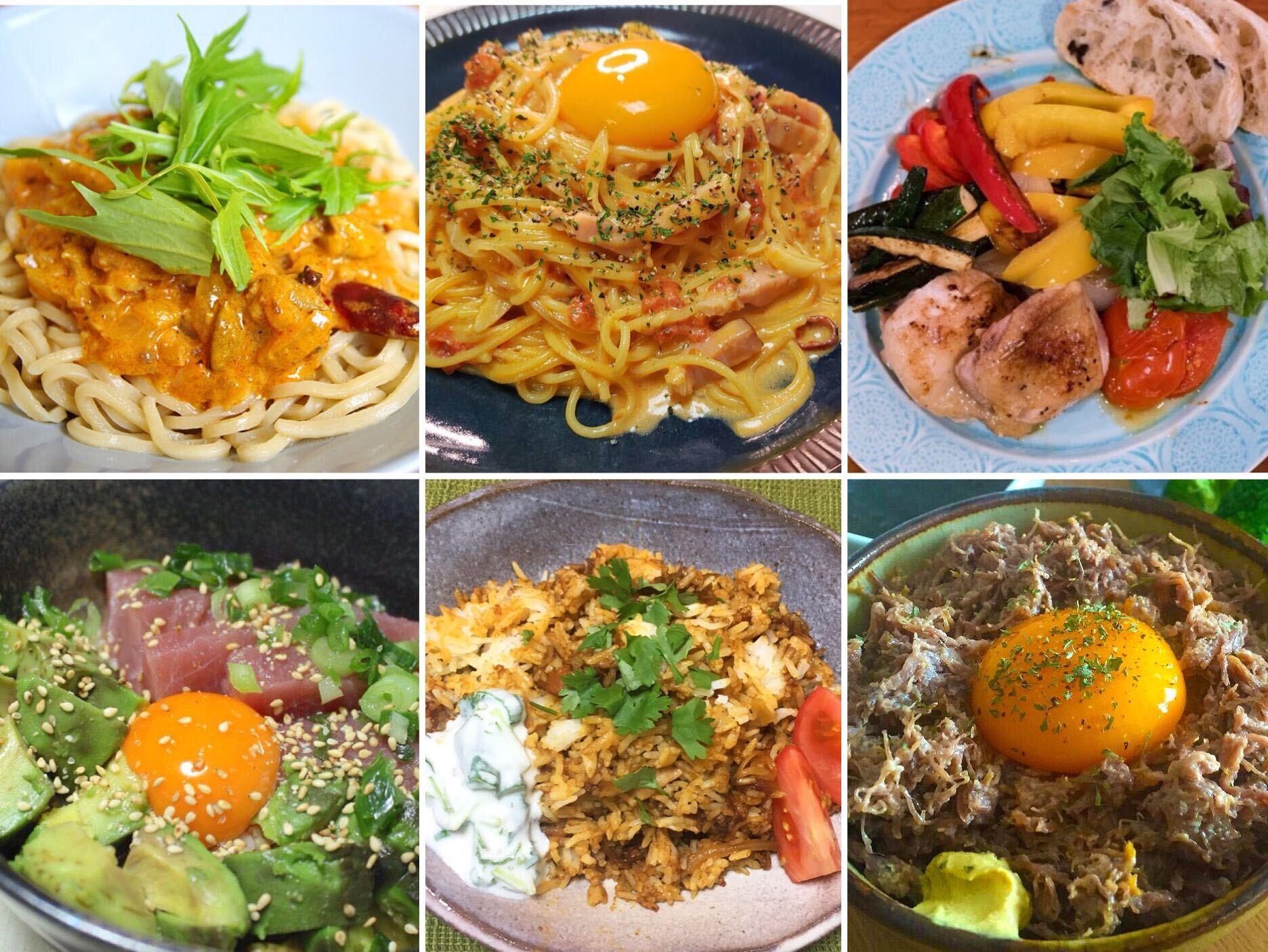 毎日の自炊をがんばるみなさんへ。「今日何食べよう?」に困ったら見てほしいアイデアまとめ