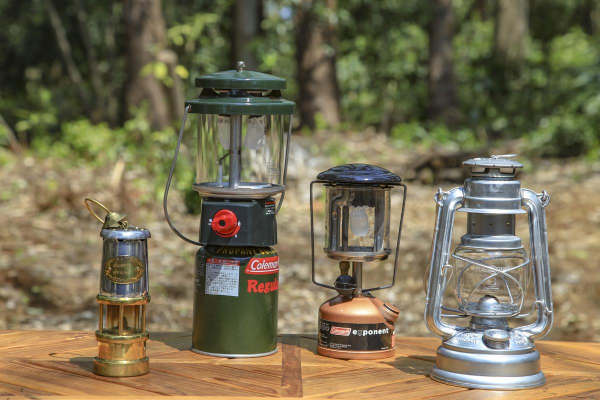 ソロキャンプにあったら便利なランタン(ガスやガソリン、灯油)