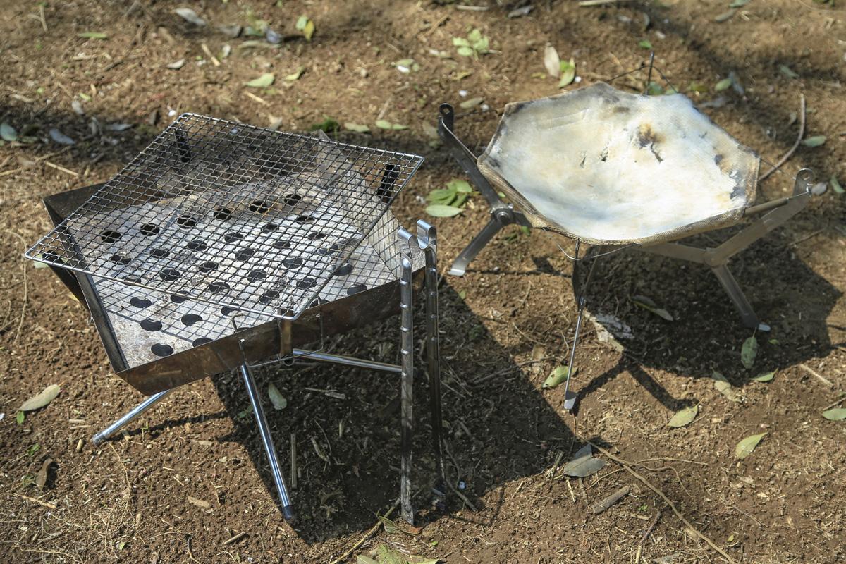 キャンプの醍醐味、焚き火を楽しむための焚き火台