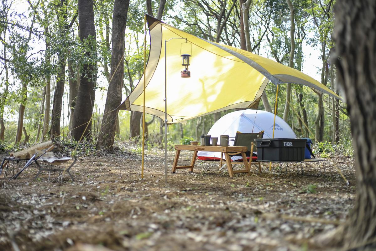 ソロキャンプ イメージ